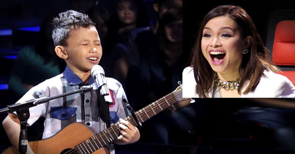 9-Year-Old Impresses The Judges With This Heart-Felt Audition