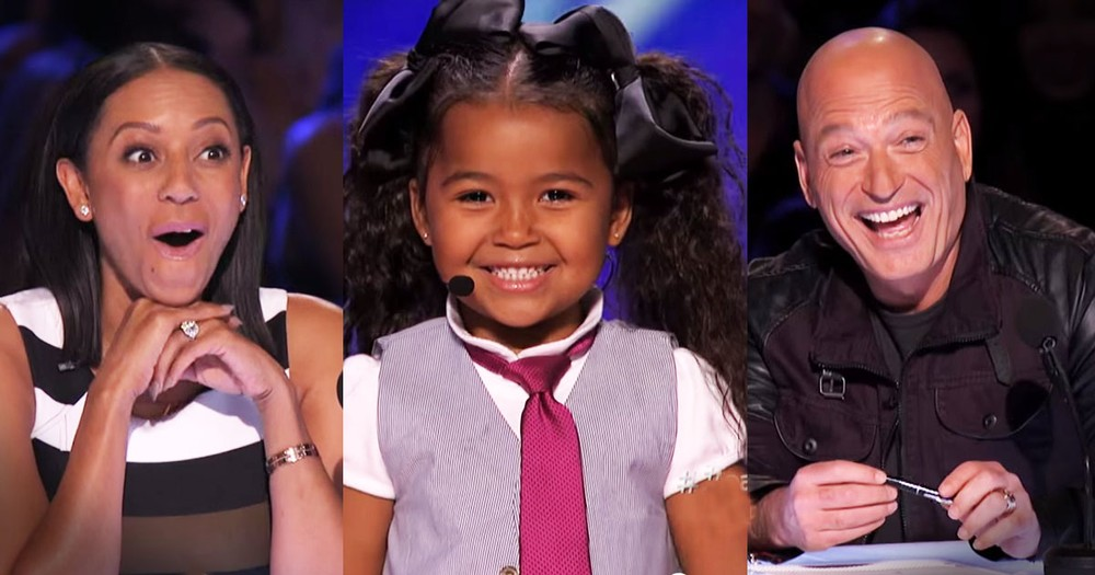 5-Year-Old Has A Big Personality And A HUGE Talent--WOW!
