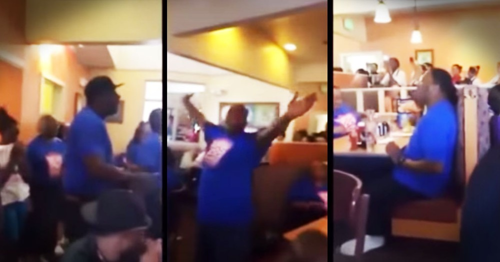 What This Choir Did At IHOP Had Me Singing AMEN!