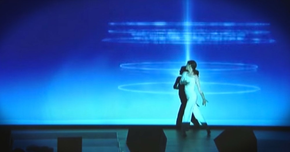 This Dance To Our Awesome God Came To Life On Stage -- INSPIRING!