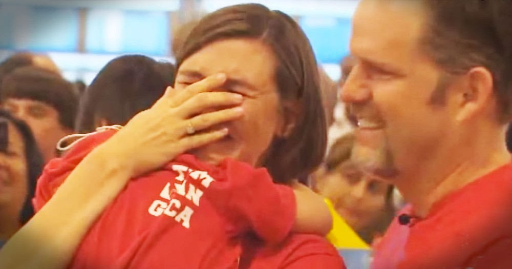 Watching This Family Pick Up Their Adopted Daughter Will Have You Needing Tissues