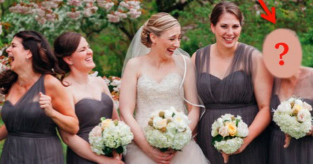 When You See WHO This Bride Chose As A Bridesmaid, Your Heart Will Melt!