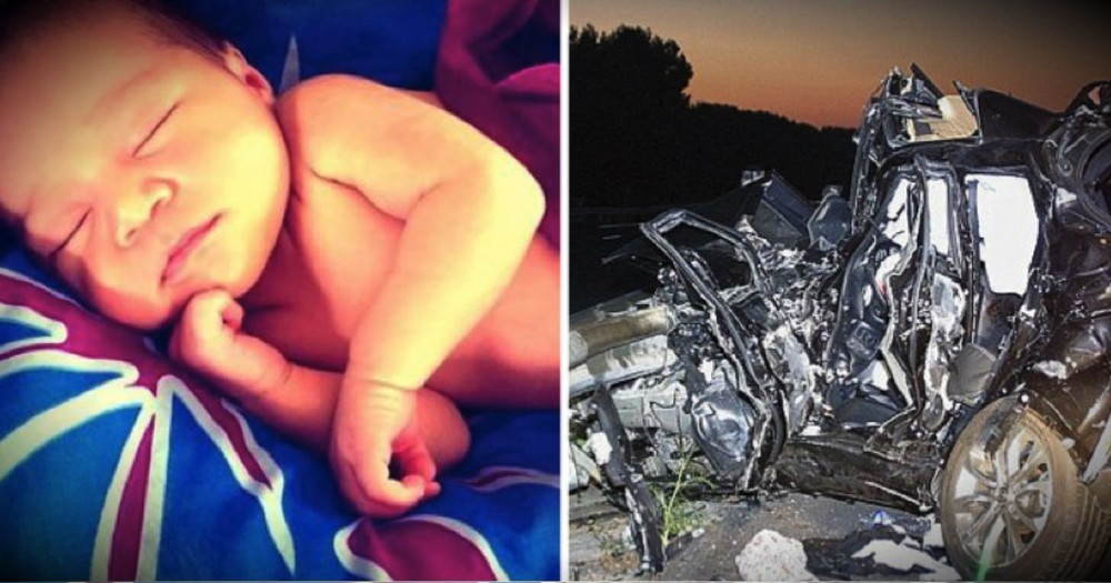 Hearing How This Sweet Baby Survived This Horrific Wreck Will Have You In Tears!