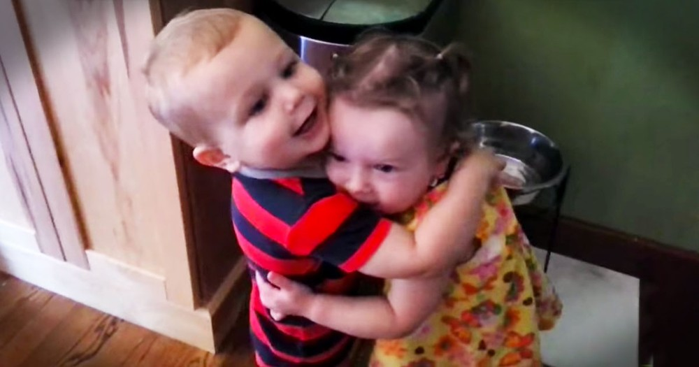 They Told Him To Hug Her And What Happened Next - Priceless!