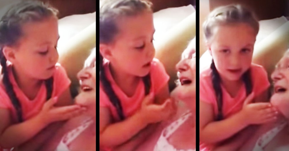She Started To Sing To Her Nana And The Tears Just ROLLED!