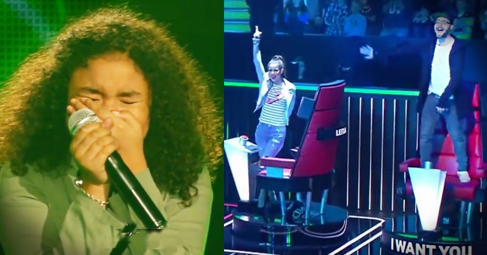The Judges HAD To Turn Around For This Little Girl's AMAZING Audition!