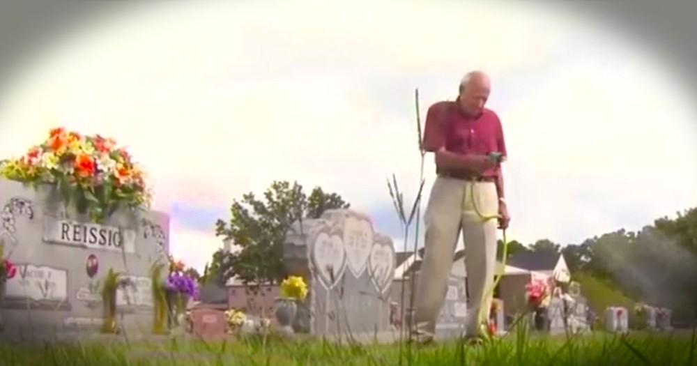 How This Widower Is Honoring A Fallen Hero Had Me In Tears!