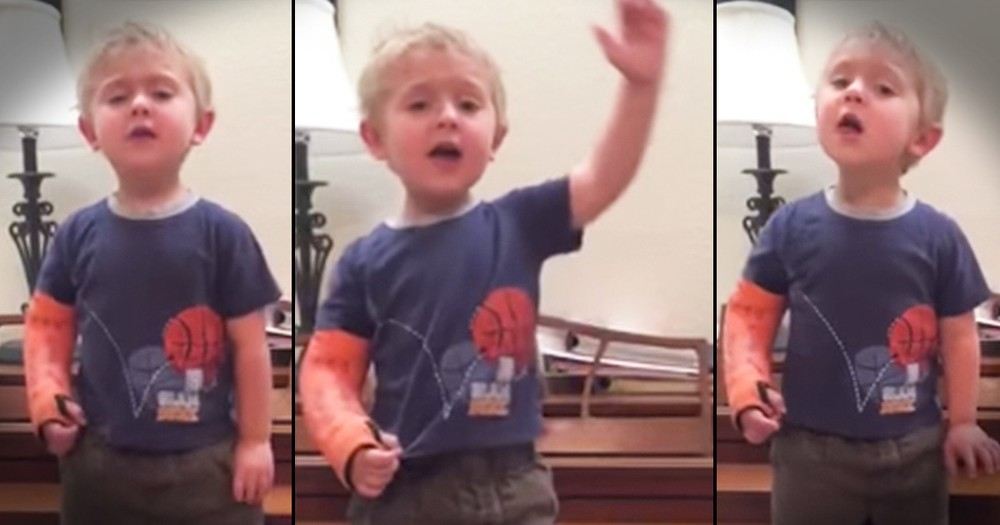 This Toddler's 'Broadway' Performance Made Him A Viral Video STAR!
