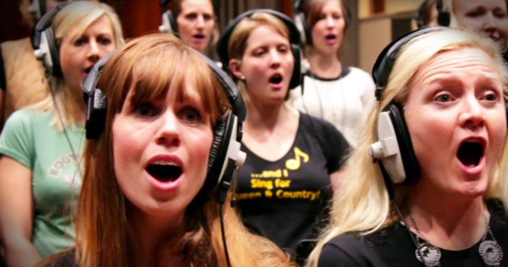 Military Wives Sing Beautiful Song For Deployed Husbands