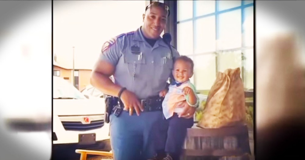 God Pulled At His Heart Strings, And What He Gave This Trooper...Chills!