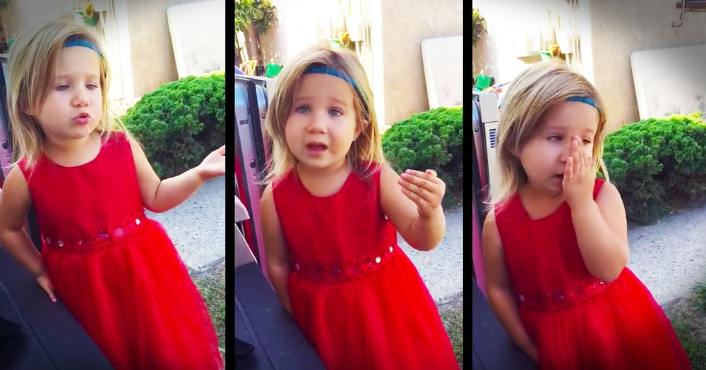 This Flower Girl's Conversation With Her Dad Had Me Cracking Up!