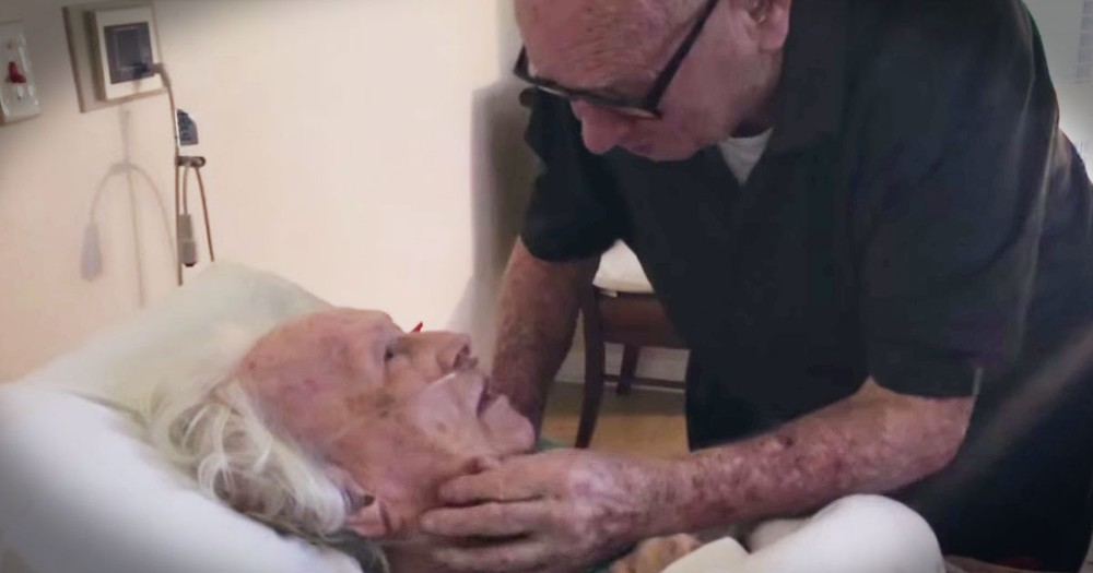 He's Singing To His Dying Wife, And His Song Left Me In Tears!