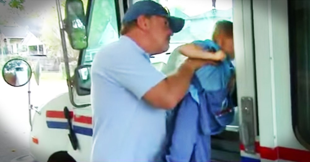 4-year-old's Unlikely Best Friend Is The Mailman, And You've Gotta See Them Together!