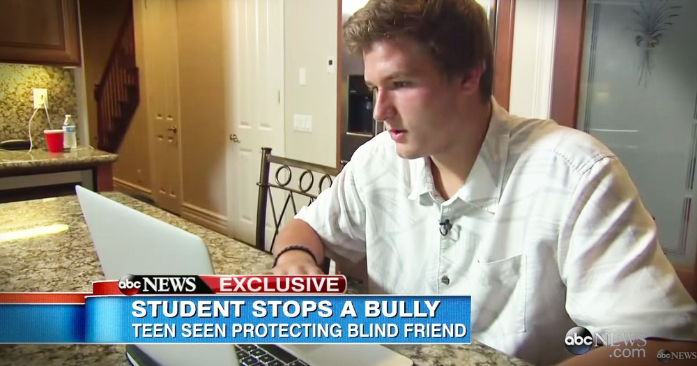 What This Brave Teen Is Saying To A Bully...POWERFUL