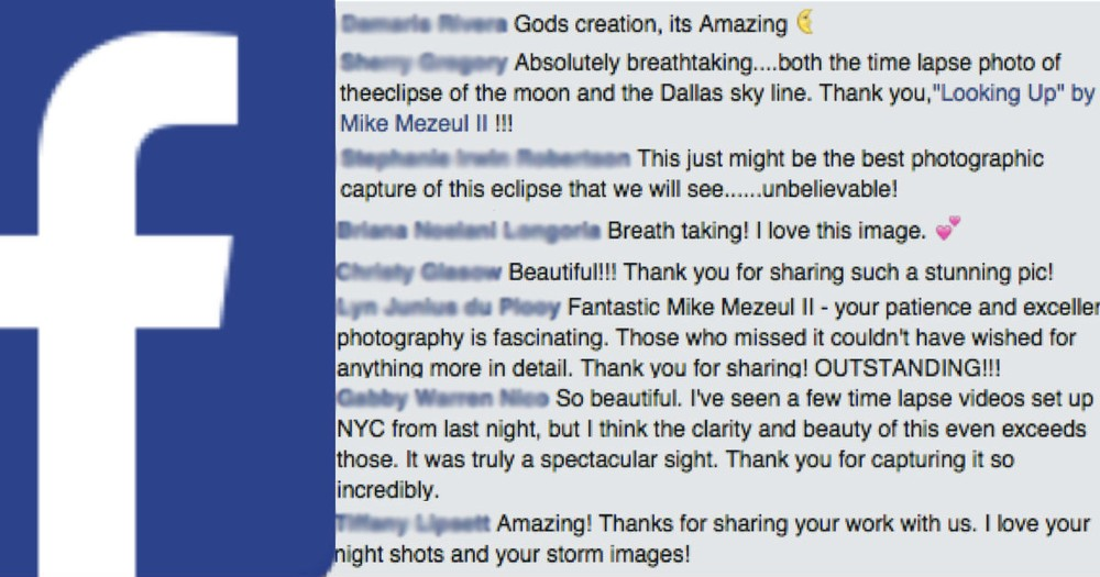 The Internet Went Crazy For This Man's Photograph Of The Blood Moon!