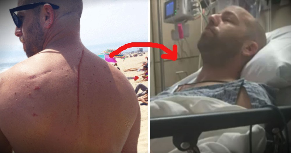 When A Shark Attacked This Man, It Turned Out To Be A Message From God!