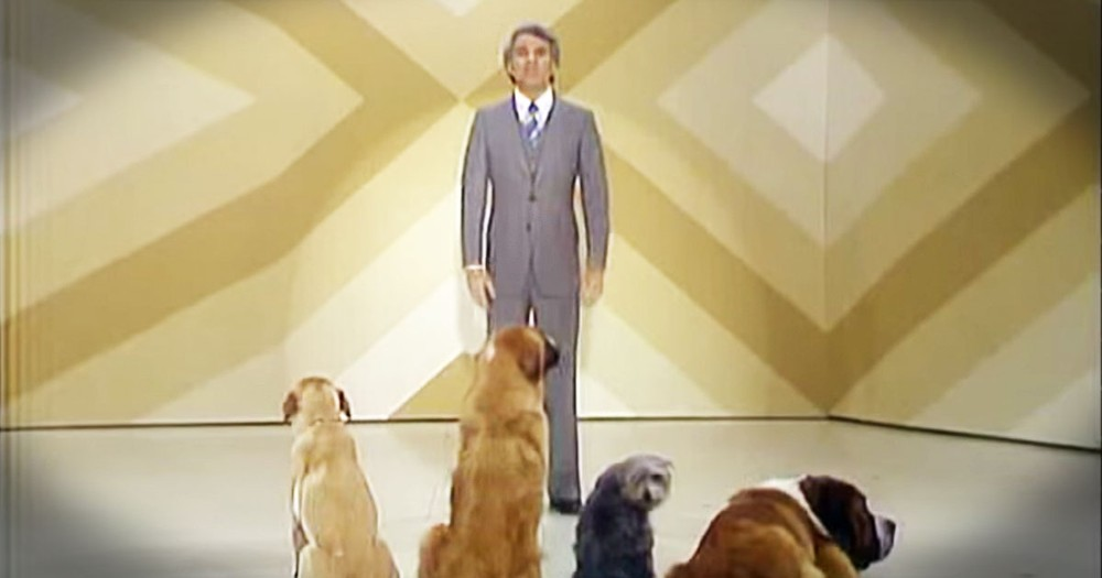 Steve Martin's Comedy Routine For Dogs Is Hilarious...For Humans!