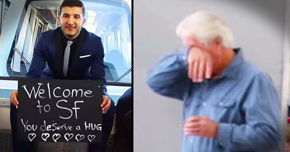 They're Surprising Total Strangers At The Airport Just To Brighten Their Day