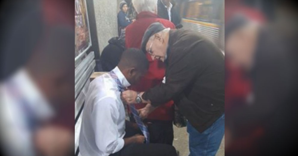 They Stopped To Help A Young Man. And It Restored My Faith In Humanity!