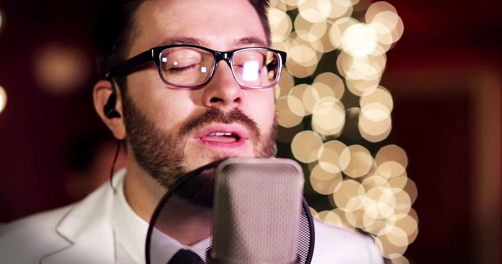 Danny Gokey Singing 'O Holy Night' Will Leave You Worshiping