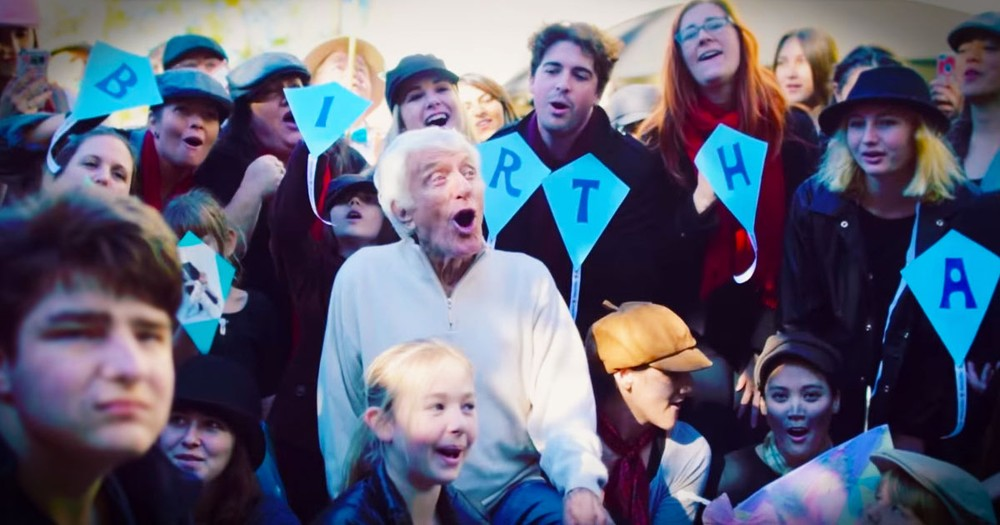 Dick Van Dyke's 90th Birthday Surprise Will Make You Sing Along For Sure