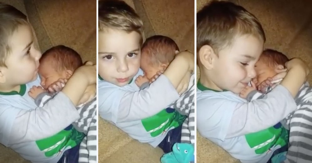 This Loving Big Brother Just Melted My Whole Heart