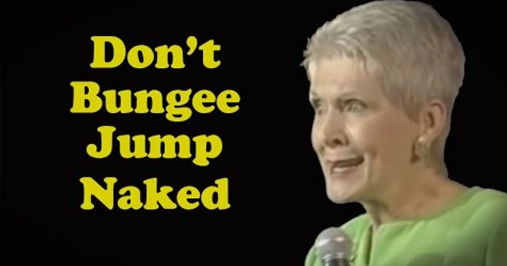 Why Older People Shouldn't Bungee Jump by Hilarious Comedian Jeanne Robertson