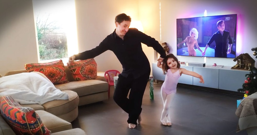 Adorable Daddy Daughter Dance Will Leave You Grinning