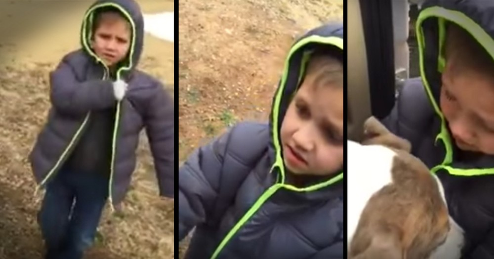 Little Boy's Reunion With His Lost Dog Is Too Sweet
