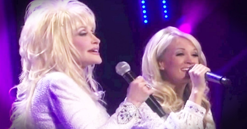 Dolly Parton And Carrie Underwood Sing Incredible Duet