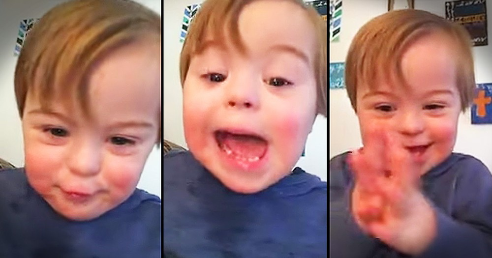 Little Boy's ABC's Are The Cutest Thing You'll Hear Today