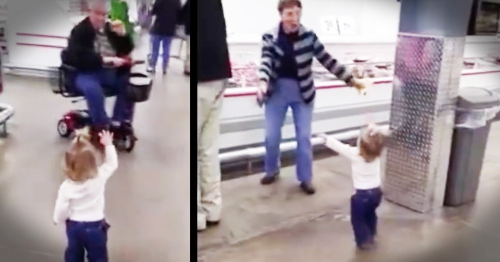 Little Girl In The Grocery Store Loves Like Jesus