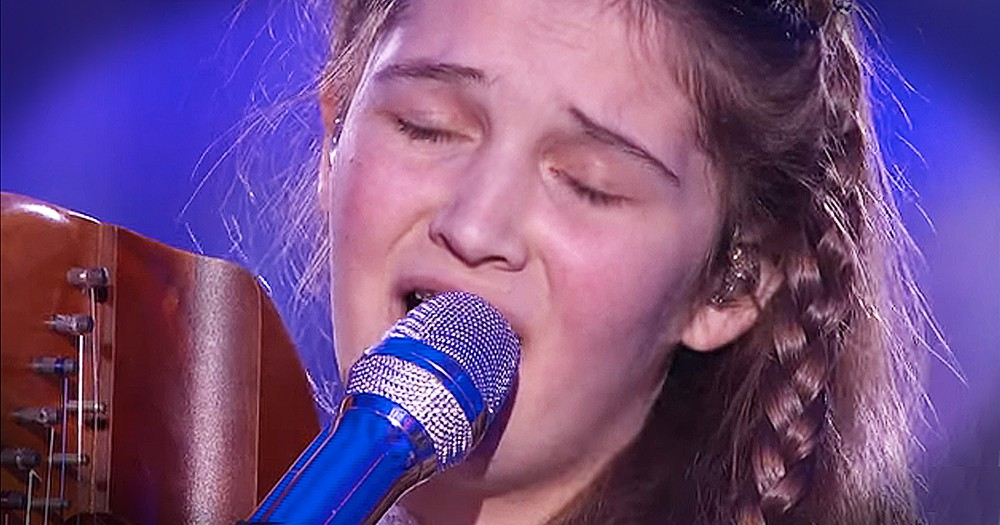 15-Year-Old's Harp Audition To 'Angel' Stuns Everyone