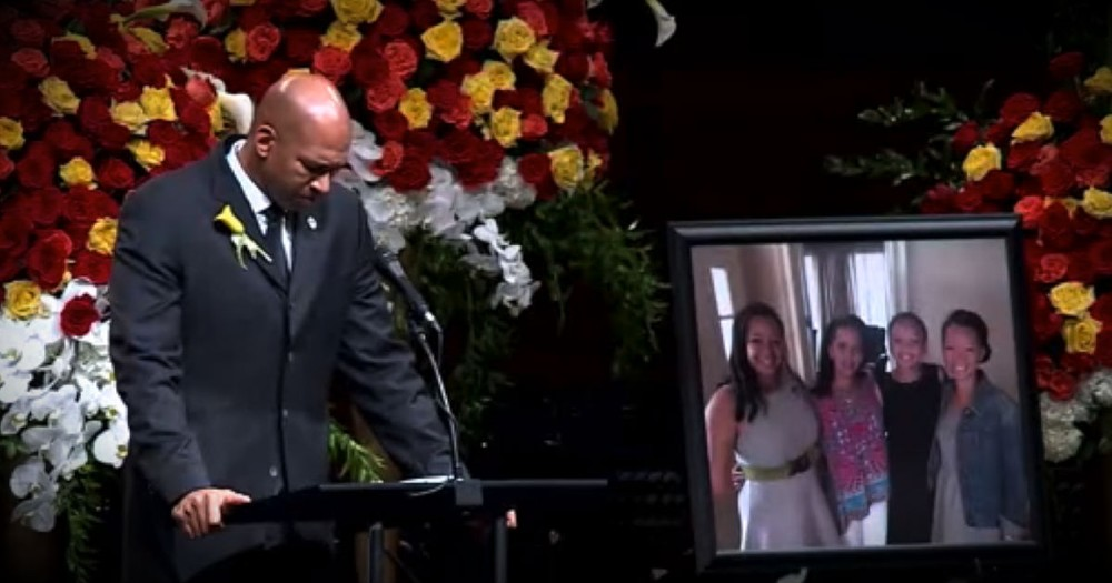 Monty Williams Gives Faith Filled Speech At Wife's Funeral