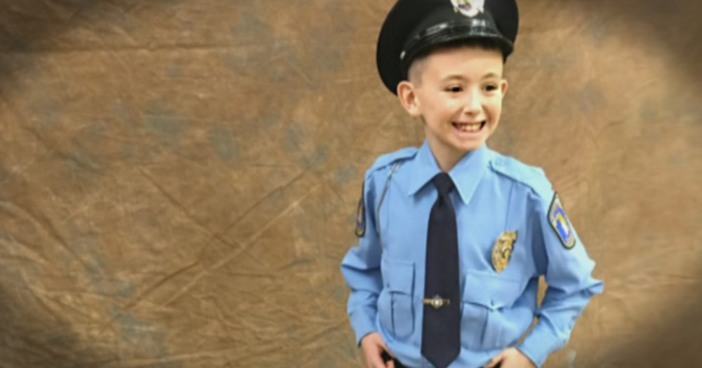 11-year-old Thanks Police Officers In The Most Amazing Way