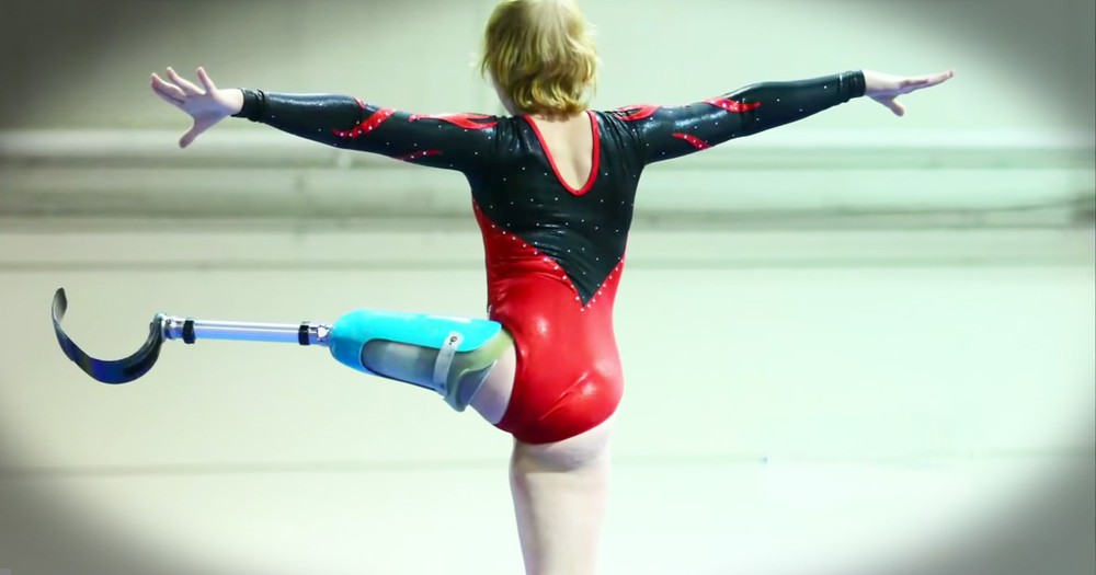 Gymnast Who Lost A Leg To Cancer Wows And Inspires