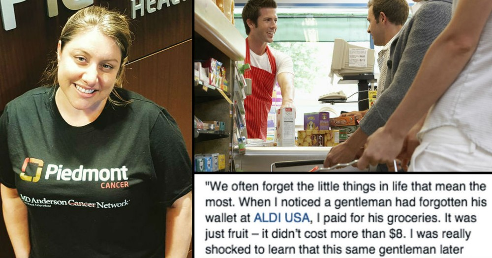 She Paid For His $7 Groceries And Got A Shocking $10,000 'Thank You'