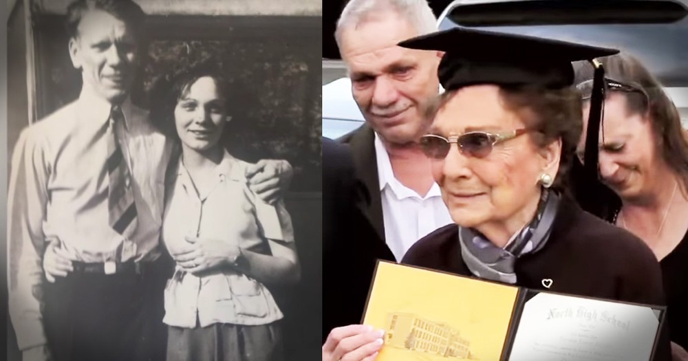 Great Grandma Gets Her High School Diploma On Her 93rd Birthday