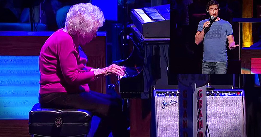 Grandma's Dream Comes True Playing 'How Great Thou Art'