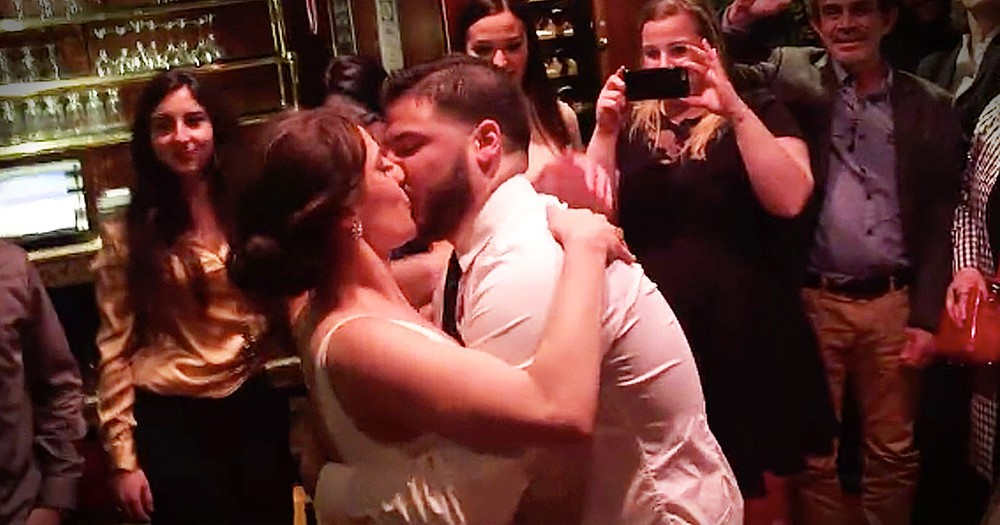 Bride And Groom's Surprise From A Choir Will Move You