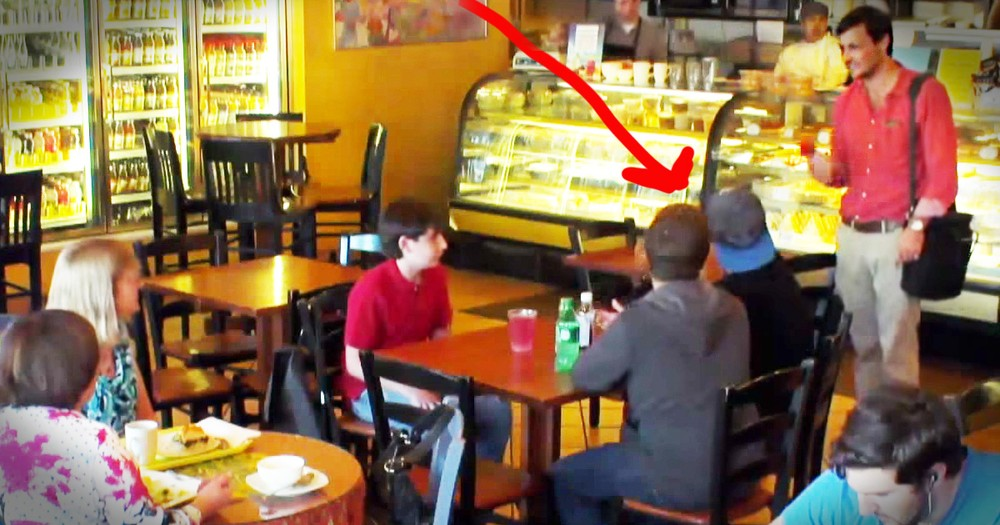 Stranger Stops 'Friends' From Pressuring Boy Into Drinking Cough Syrup
