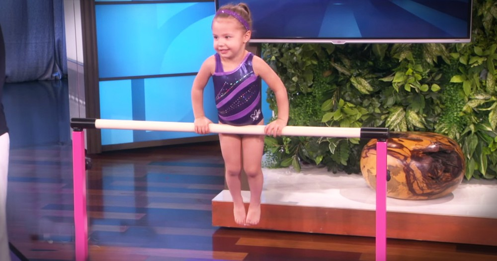 Tiny Gymnast's Big Talent Will Wow You