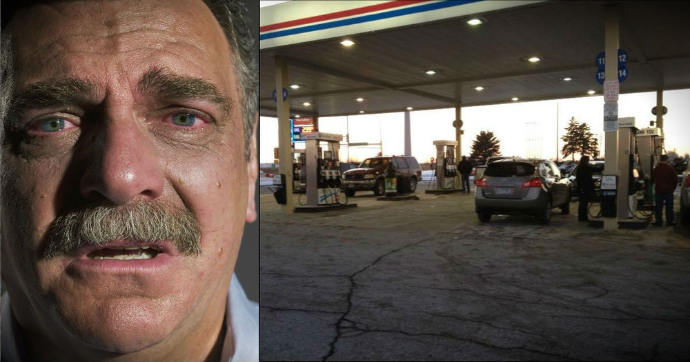 Angels At A Gas Station Help A Struggling Man And His Family