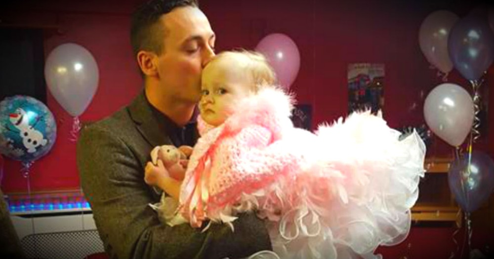 Dad Gives His Dying Baby Girl The Wedding Of Her Dreams