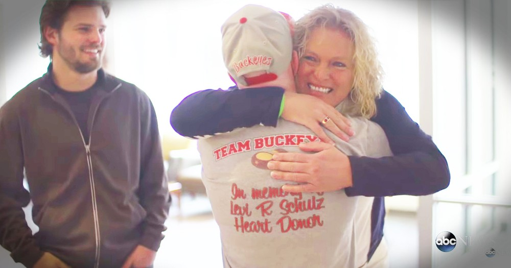 Mom Hears Late Son's Heartbeat In The Man It Saved