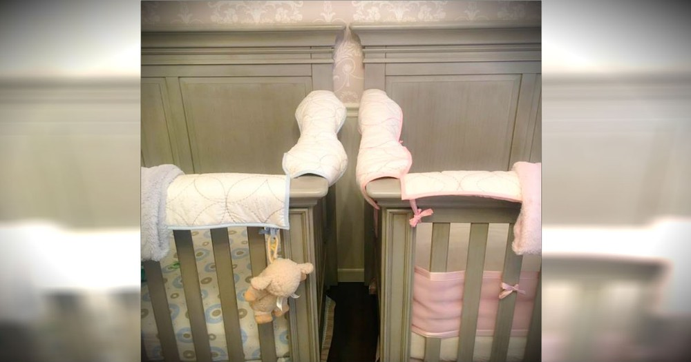Mom's Warning Of The Surprising DANGER Of 2 Cribs Side By Side