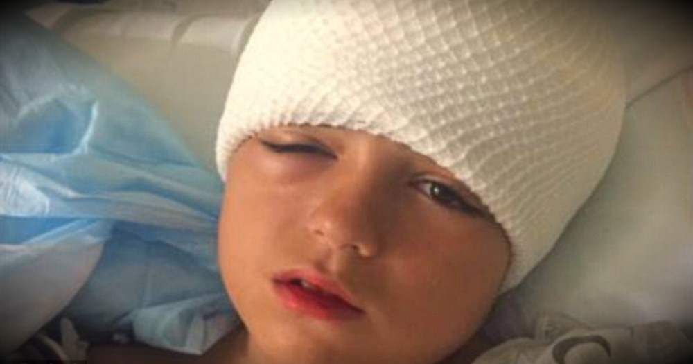 Mom Warns All Parents After Her Son Nearly Dies From A Bike Accident