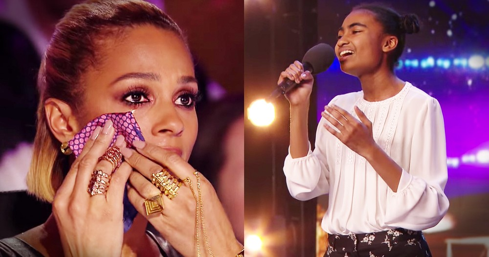 14-Year-Old's Audition Moves The Judges To Tears