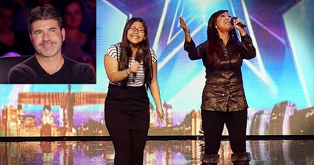 Mother-Daughter Audition Wows Judges