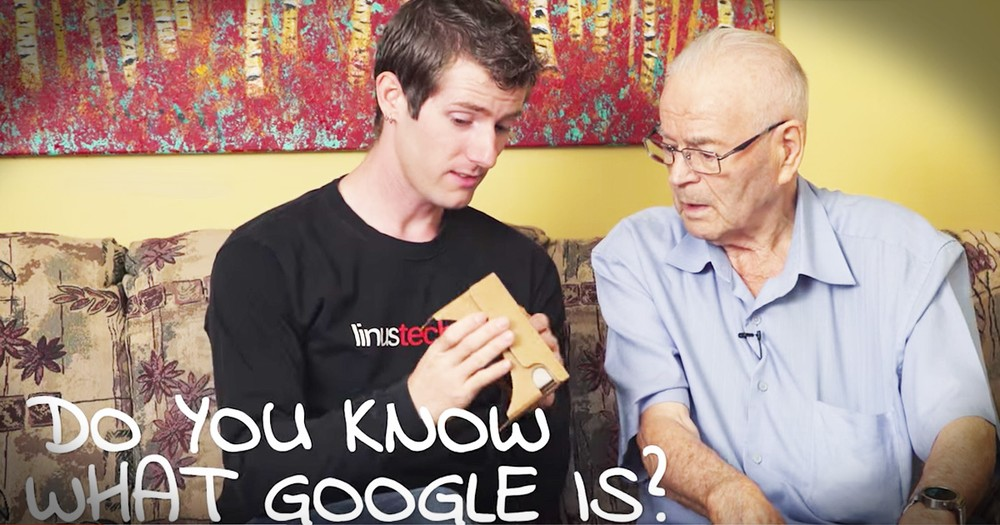 91-Year-Old Is Learning New Things With His Grandson And It's Precious